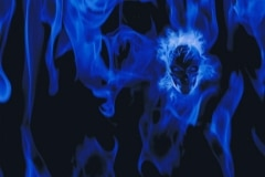 BLUE-FLAMES-WITH-SKULL